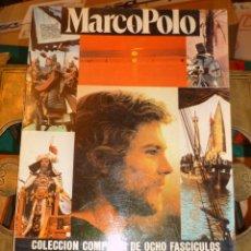Cine: MARCO POLO COLECCION COMPLETA SERIE TELEVISION ED. AMAIKA 1983. Lote 48227523