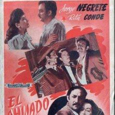 Cine: JORGE NEGRETE : EL AHIJADO DE LA MUERTE. Lote 48263918