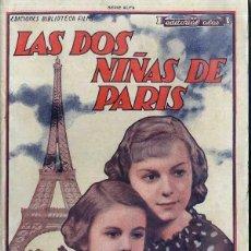Cine: CLAUDE BARGHON / MADELEINE GUITTY : LAS DOS NIÑAS DE PARIS. Lote 48263998