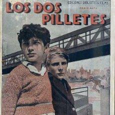 Cine: JACQUES TAVOLI / SERGE GRAVE : LOS DOS PILLETES. Lote 195922766