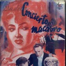 Cine: LINDA DARNELL : CONCIERTO MACABRO. Lote 48264195