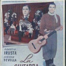 Cine: AGUSTIN IRUSTA / CARMEN SEVILLA : LA GUITARRA DE GARDEL. Lote 48264969
