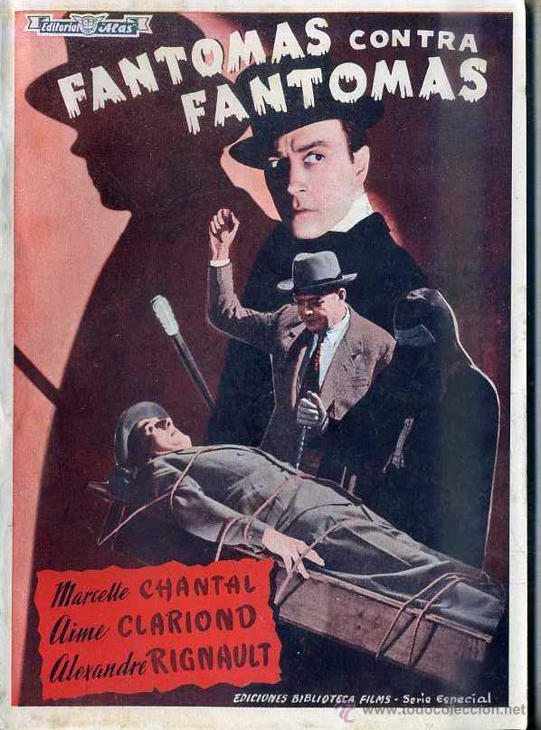 M. CHANTAL : FANTOMAS CONTRA FANTOMAS (Cine - Foto-Films y Cine-Novelas)