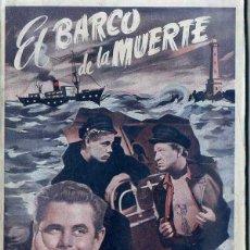 Cine: GLENN FORD : EL BARCO DE LA MUERTE. Lote 48265664
