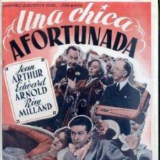 Cine: RAY MILLAND : UNA CHICA AFORTUNADA. Lote 48265748