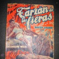 Cine: TARZAN DE LAS FIERAS - BUSTER GRABE - JACQUELINE WELLS - EDITORIAL ALAS - VER FOTOS. Lote 48285814