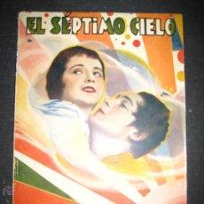 Cine: EL SEPTIMO CIELO - CHARLES FARRELL - JANET GAYNOR - EDICIONES BISTAGNE - VER FOTOS. Lote 48285876