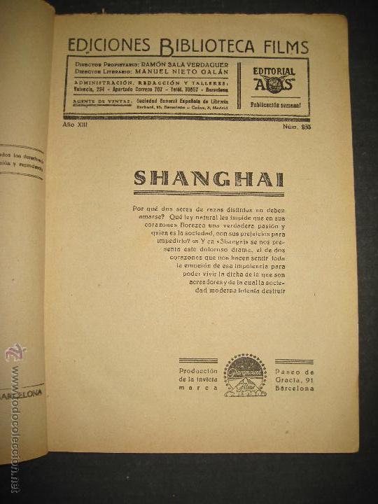 Cine: SHANGHAI - WARNER OLAND . LORETA YOUNG . CHARLES BOYER - EDITORIAL ALAS - VER FOTOS - Foto 2 - 48286242