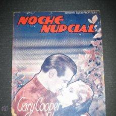 Cine: NOCHE NUPCIAL - GARY COOPER - ANNA STEN - EDITORIAL ALAS - VER FOTOS. Lote 48286411