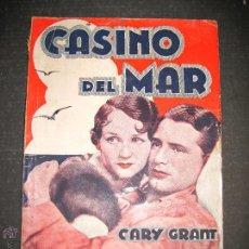 Cine: CASINO DEL MAR - GARY GRANT - BENITA HUME - EDITORIAL ALAS - VER FOTOS. Lote 48286455