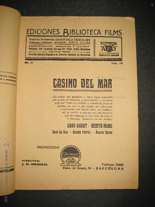 Cine: CASINO DEL MAR - GARY GRANT - BENITA HUME - EDITORIAL ALAS - VER FOTOS - Foto 2 - 48286455