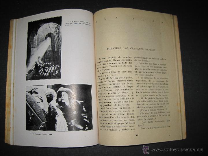 Cine: DON JUAN - JOHN BARRYMORE - EDICIONES BISTAGNE - VER FOTOS - Foto 11 - 48286657