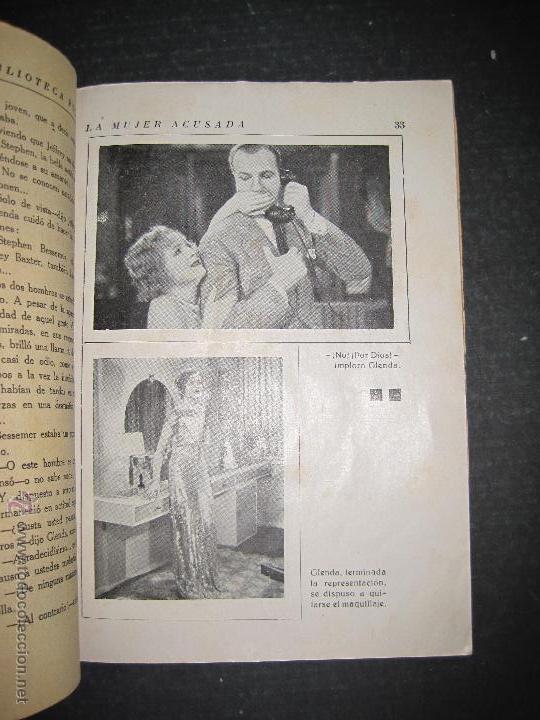 Cine: LA MUJER ACUSADA - CARY GRANT - NANCY CARROLL - EDITORIAL ALAS - VER FOTOS - Foto 3 - 48287726