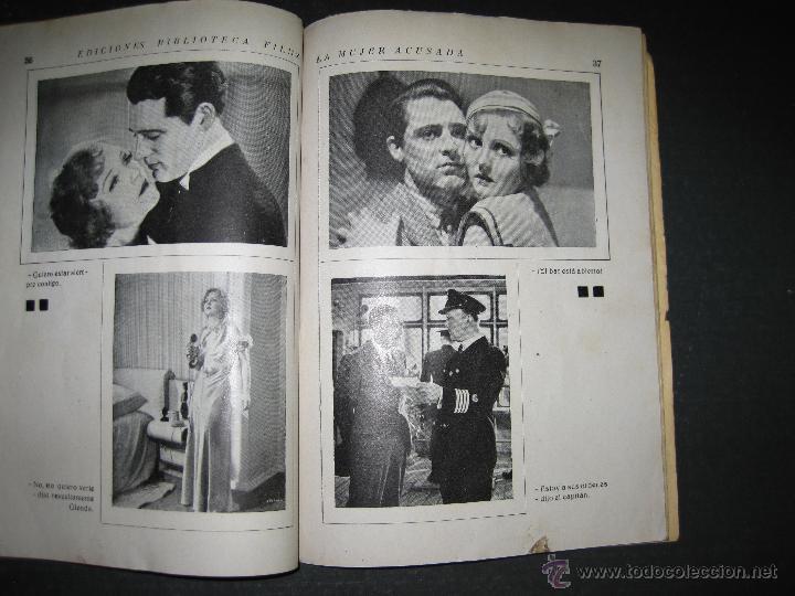 Cine: LA MUJER ACUSADA - CARY GRANT - NANCY CARROLL - EDITORIAL ALAS - VER FOTOS - Foto 5 - 48287726