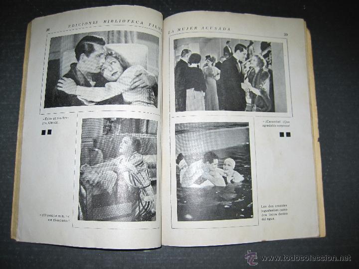 Cine: LA MUJER ACUSADA - CARY GRANT - NANCY CARROLL - EDITORIAL ALAS - VER FOTOS - Foto 6 - 48287726