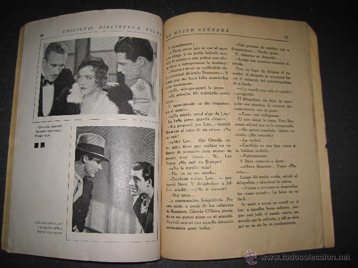 Cine: LA MUJER ACUSADA - CARY GRANT - NANCY CARROLL - EDITORIAL ALAS - VER FOTOS - Foto 7 - 48287726
