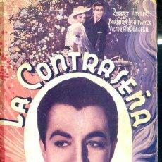 Cine: ROBERT TAYLOR - BARBARA STANWICK : LA CONTRASEÑA. Lote 48511534