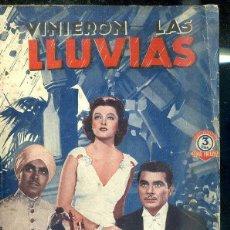 Cine: TYRONE POWER - MYRNA LOY : VINIERON LAS LLUVIAS. Lote 48511562