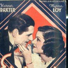 Cine: WARNER BAXTER - MYRNA LOY : ESTRICTAMENTE CONFIDENCIAL. Lote 228382290