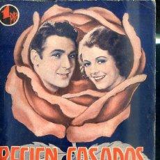 Cine: JANET GAYNOR - CHARLES FARRELL : RECIEN CASADOS. Lote 48511720