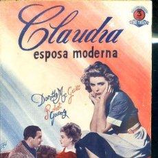 Cine: DOROTHY MC GUIRE - ROBERT YOUNG : CLAUDIA ESPOSA MODERNA. Lote 48511740