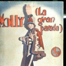 Cine: HELLEN TWELVETREES : MOLLY LA GRAN PARADA. Lote 48512657