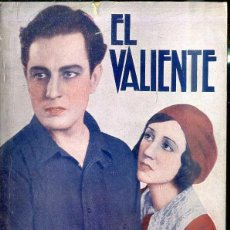Cine: JUAN TORENA : EL VALIENTE. Lote 48512711