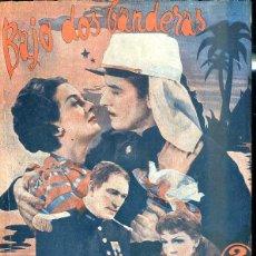 Cine: ROSALIND RUSSELL - CLAUDETTE COLBERT : BAJO DOS BANDERAS. Lote 48512851