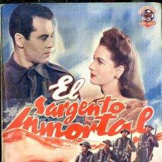 Cine: HENRY FONDA - MAUREEN O'HARA : EL SARGENTO INMORTAL. Lote 48512952