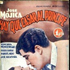 Cine: JOSE MOJICA - CONCHITA MONTENEGRO - MIGUEL LIGERO : HAY QUE CASAR AL PRÍNCIPE. Lote 48513208