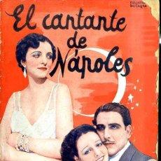 Cine: ENRICO CARUSO HIJO - MONA MARIS : EL CANTANTE DE NÁPOLES. Lote 48513603