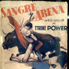 Cine: TYRONE POWER - RITA HAYWORTH : SANGRE Y ARENA. Lote 48516590