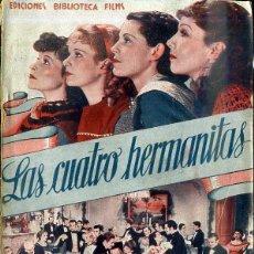 Cine: KATHARINE HEPBURN : LAS CUATRO HERMANITAS. Lote 48516612