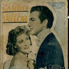 Cine: ROBERT TAYLOR - GRETA GARBO : MARGARITA GAUTIER. Lote 48516665