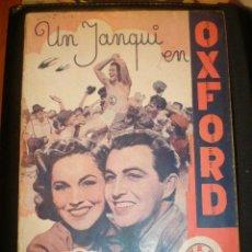 Cine: BIBLIOTECA FILMS NOVELA UN YANQUI EN OXFORD. Lote 49102005