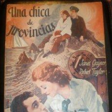 Cine: BIBLIOTECA FILMS NOVELA UNA CHICA DE PROVINCIAS. Lote 49102019