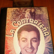 Cine: BIBLIOTECA FILMS NOVELA LA CONTRASEÑA. Lote 49170840