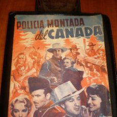 Cine: BIBLIOTECA FILMS NOVELA POLICIA MONTADA DEL CANADA. Lote 49170848