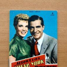 Cine: MIENTRAS NUEVA YORK DUERME - Nº 19 - FOTO FILM DE BOLSILLO - COLEC- MANDOLINA 1959 - VER FOTOS. Lote 49497282
