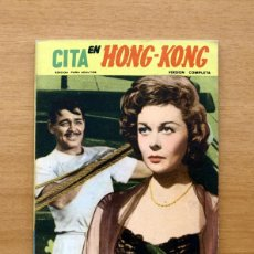 Cine: CITA EN HONG-KONG - Nº 13 - FOTO FILM DE BOLSILLO - COLEC- MANDOLINA 1959 - VER FOTOS EN EL INTERIOR. Lote 49497942