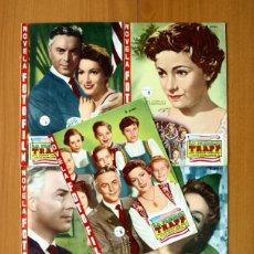 Cine: LA FAMILIA TRAPP - COMPLETA, 5 FASCICULOS - EDICIONES SUEÑOS ROSADOS - VER FOTOS ADICIONALES. Lote 49508790