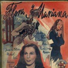 Cine: JUAN DE ORDUÑA : FLORA Y MARIANA (BISTAGNE). Lote 50933979