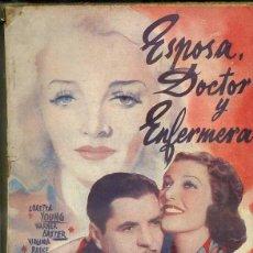 Cine: LORETTA YOUNG : ESPOSA, DOCTOR Y ENFERMERA (BISTAGNE). Lote 50934297