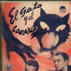 Cine: BOB HOPE / PAULETTE GODARD : EL GATO Y EL CANARIO (BISTAGNE). Lote 50934952
