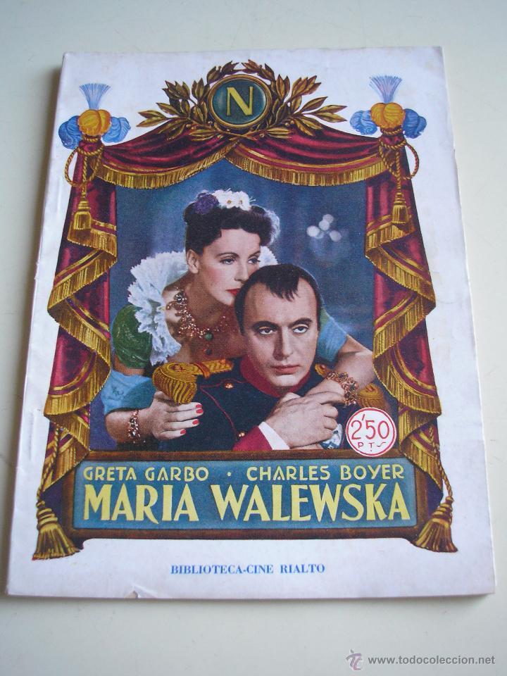 MARÍA WALEWSKA (Cine - Foto-Films y Cine-Novelas)