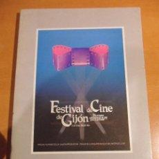 Cine: FESTIVAL DE CINE DE GIJON. 3 AL 11 DE JULIO DE 1986. CATALOGO. RUSTICA. CON FOTOGRAFIAS EN BLANCO Y . Lote 53192843