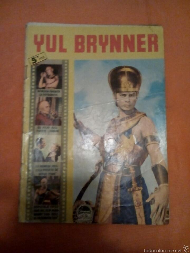 YUL BRYNNER (Cine - Foto-Films y Cine-Novelas)