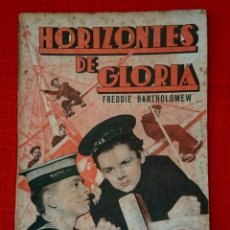 Cine: HORIZONTES DE GLORIA -CINE NOVELA -EDITORIAL GRAFIDEA -AÑOS 30. Lote 54723828