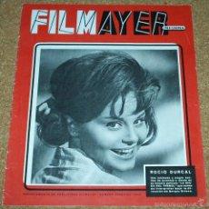 Cine: ROCIO DURCAL -FILMAYER INFORMA-12 PG + PDAS. - Nº ESPECIAL 1963 - LEER. Lote 55649797