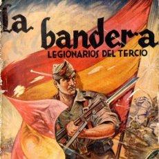 Cine: LA BANDERA LEGIONARIOS DEL TERCIO - PELÍCULA DE 1935 FILMADA EN CEUTA - EDICIONES BISTAGNE. Lote 55908879